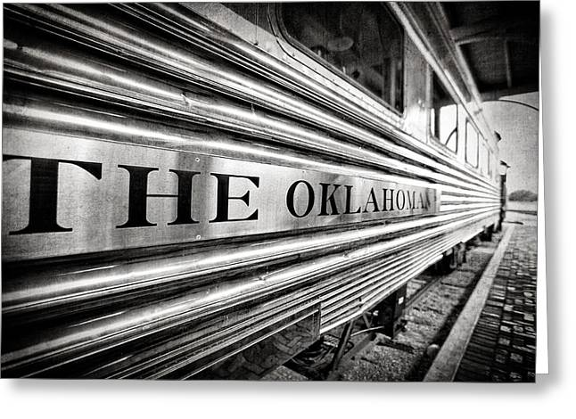 The Oklahoman Greeting Card by Charrie Shockey