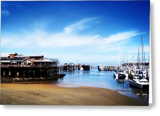 The Old Fisherman's Warf Greeting Card