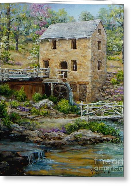 The Old Mill In Spring Greeting Card