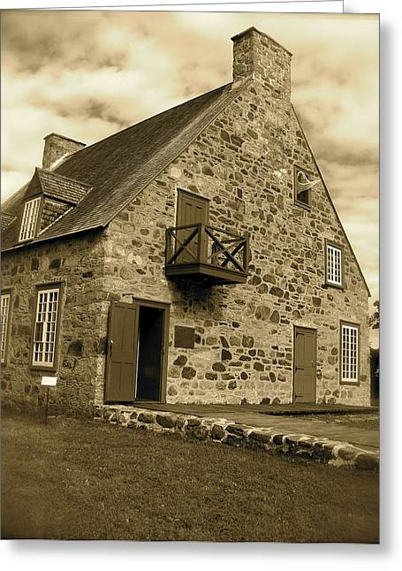 Greeting Card featuring the photograph The Old Presbytery by Robin Regan