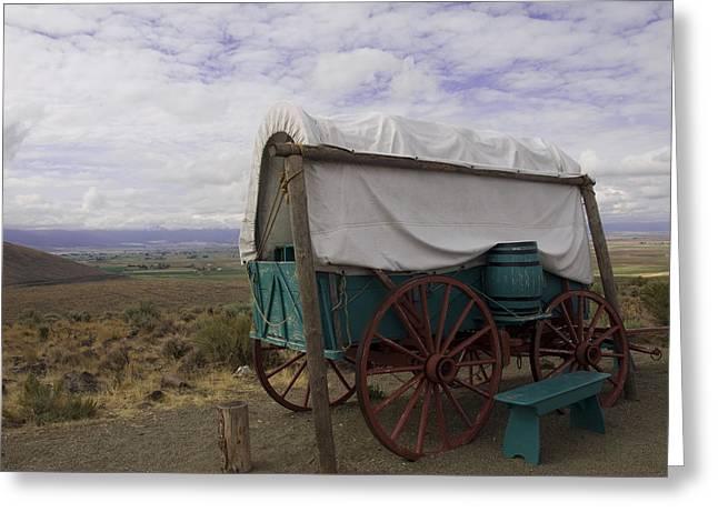The Oregon Trail No 3 Greeting Card