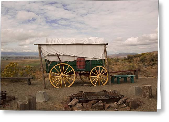 The Oregon Trail No 4 Greeting Card