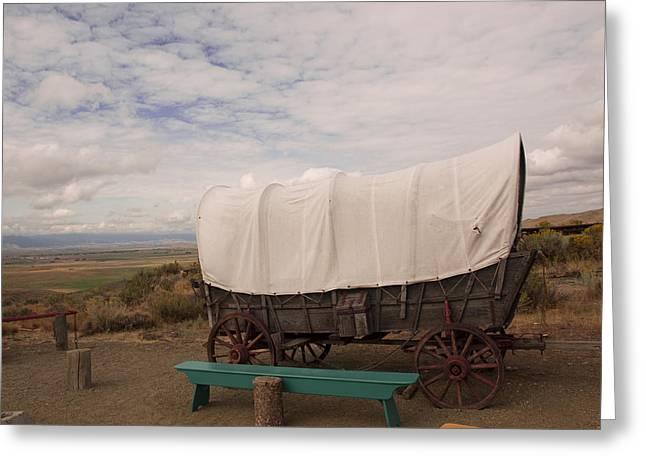The Oregon Trail No 5 Greeting Card