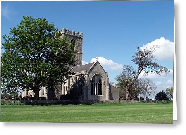 The Parish Church Of St Andrew Greeting Card