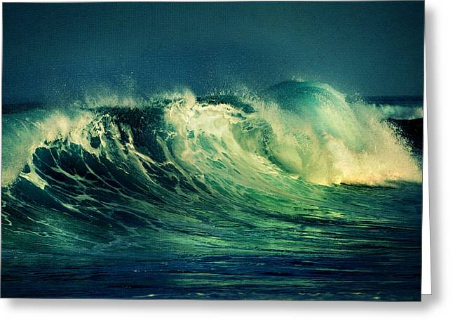 The Passion Of The Ocean II Greeting Card