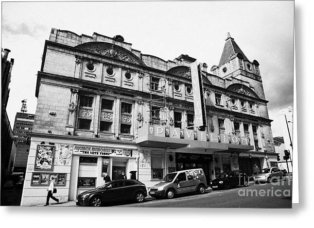 The Pavilion Theatre Scottish National Theatre Of Variety Glasgow Scotland Uk Greeting Card by Joe Fox