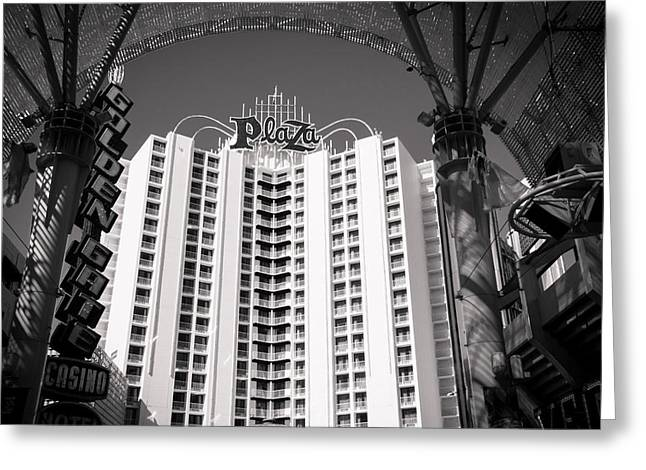 The Plaza Las Vegas  Greeting Card by Susan Stone