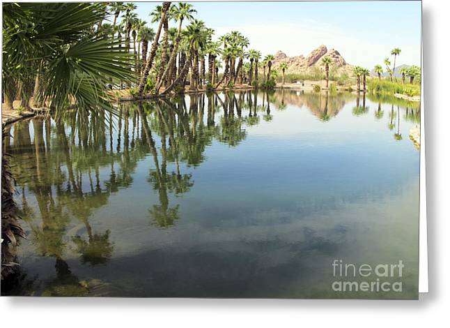 Greeting Card featuring the photograph The Pond by Leslie Hunziker