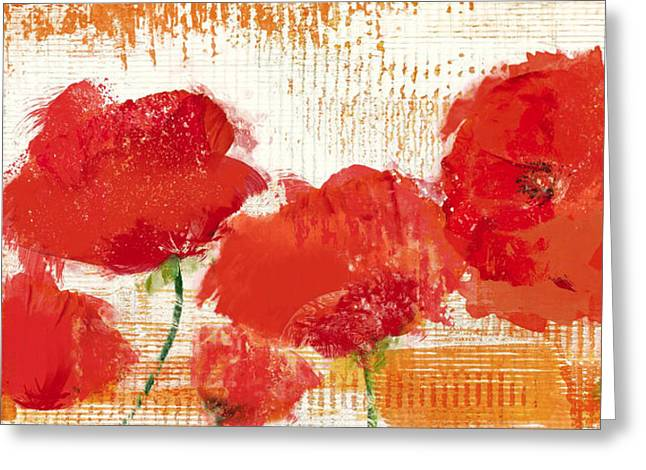 The Poppies Blow Greeting Card by Irena Orlov