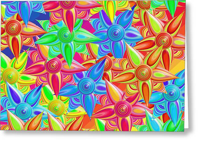 The Power Of Flowers Greeting Card