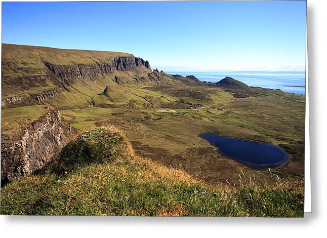 The Quiraing Isle Of Skye Greeting Card