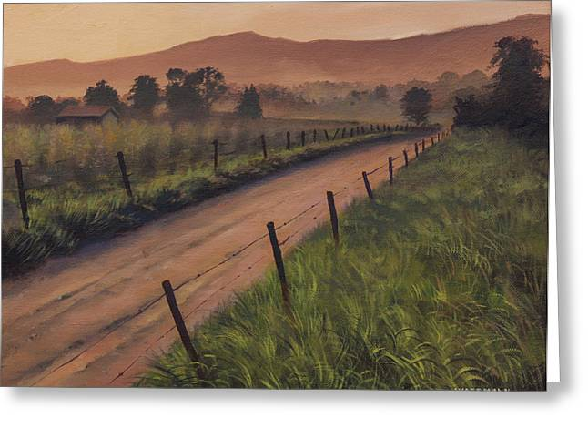 The Road Home Greeting Card by Cliff Wassmann