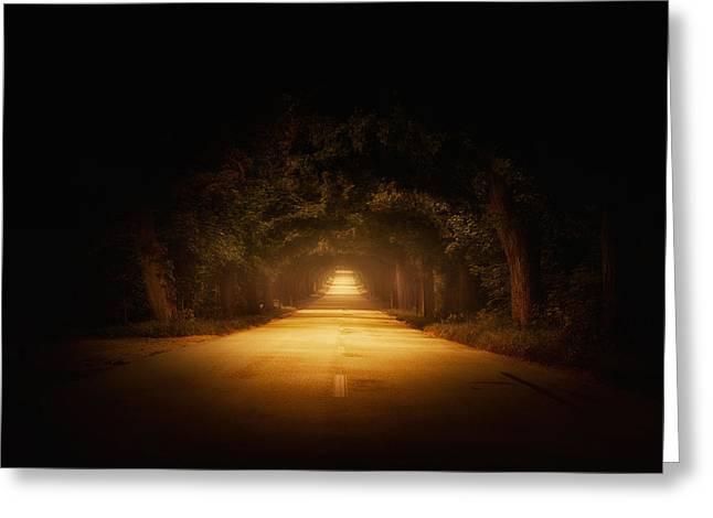 The Road To.... Greeting Card by Marek Czaja