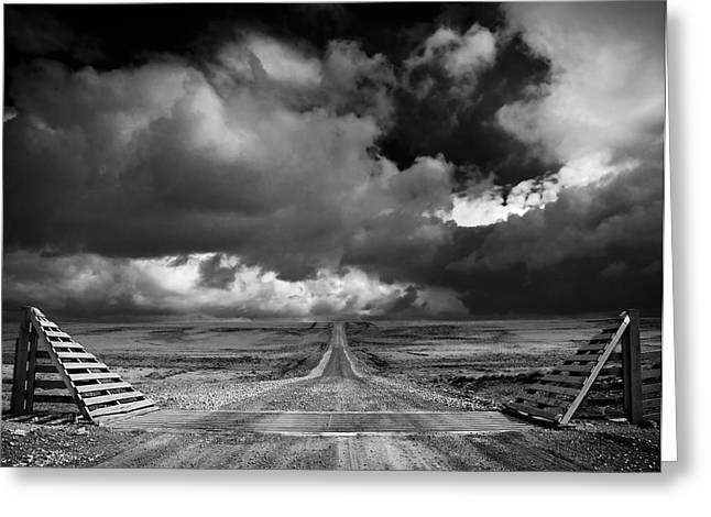 The Road To Nowhere Greeting Card by Paul Davis