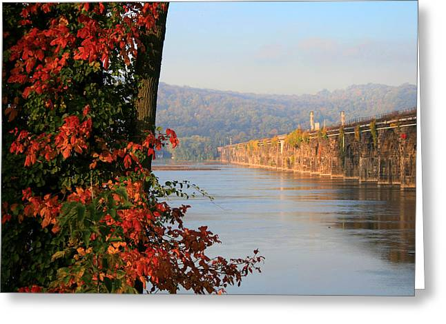 The Rockville In Autumn Greeting Card
