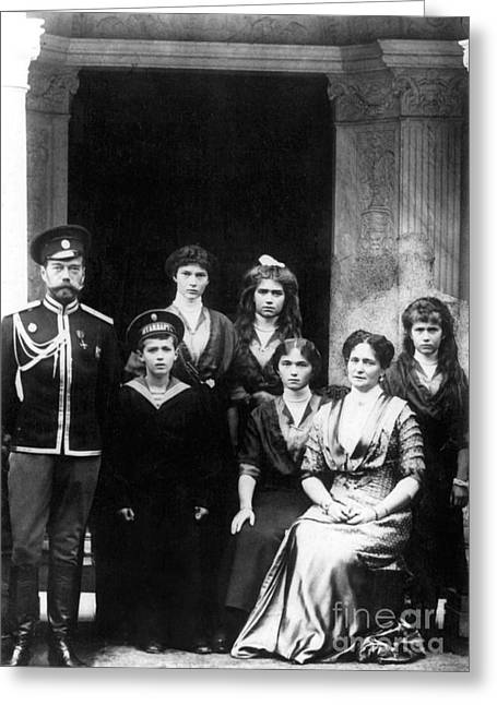 The Romanovs Greeting Card by Science Source