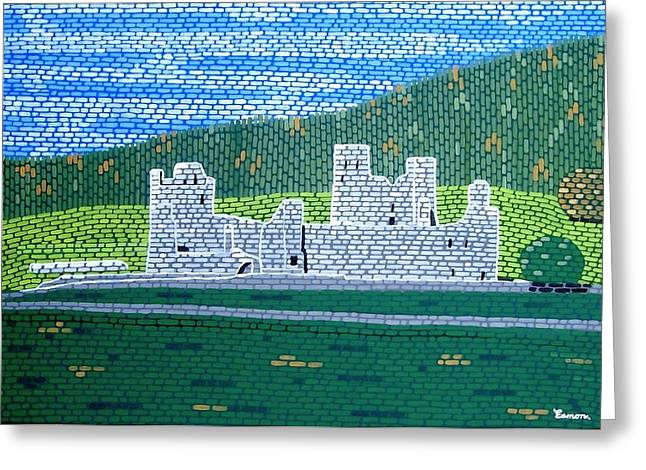 The Ruins Of Fore Abbey Greeting Card by Eamon Reilly