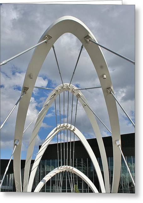 The Seafarers Bridge Structure Greeting Card