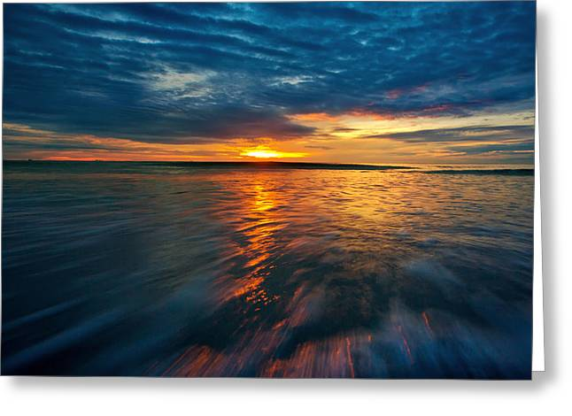 The Seascape Huahin Thailand Greeting Card by Arthit Somsakul