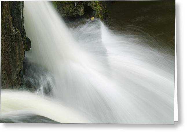 The Second Lahuarpia Falls, Lahuarpia Greeting Card by Nigel Hicks