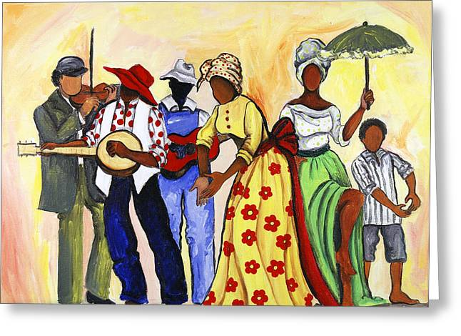 The Second Line Greeting Card
