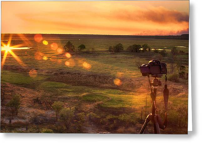 The Significance Of Light Greeting Card by Douglas Barnard