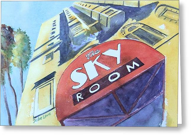 The Sky Room Greeting Card