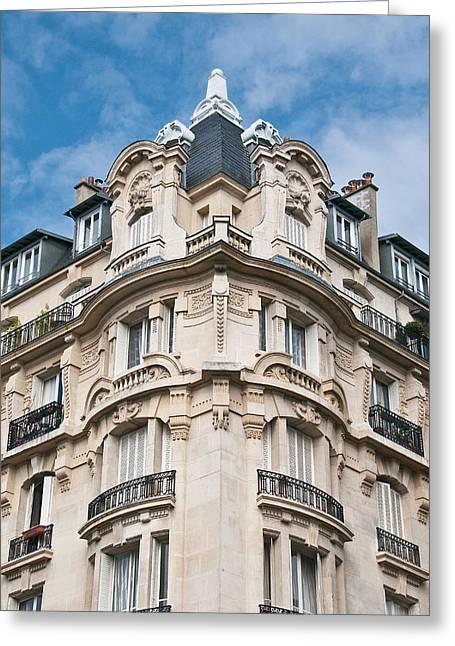The Splendor Of Paris Greeting Card by Kent Sorensen