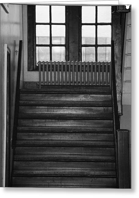 The Stairway Greeting Card by Rob Hans