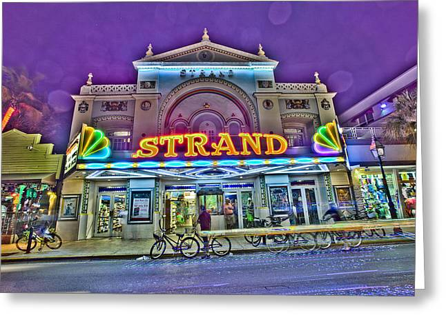 The Strand Greeting Card by Scott Meyer