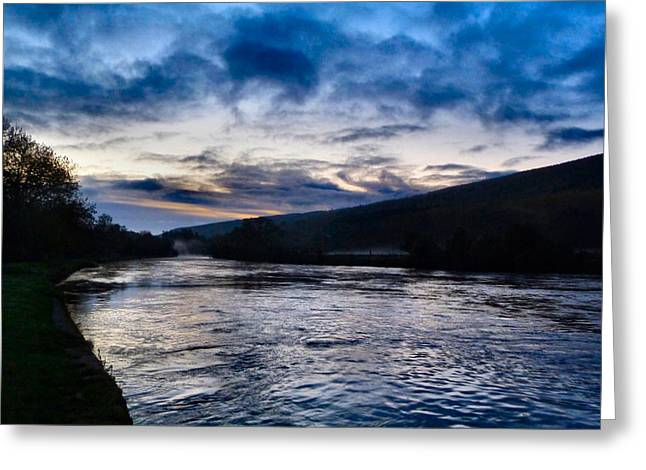 The Suir Ireland. Greeting Card