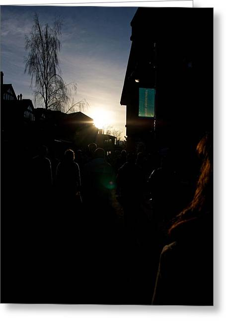 Greeting Card featuring the photograph The Sun Departs Whistler Bc by JM Photography