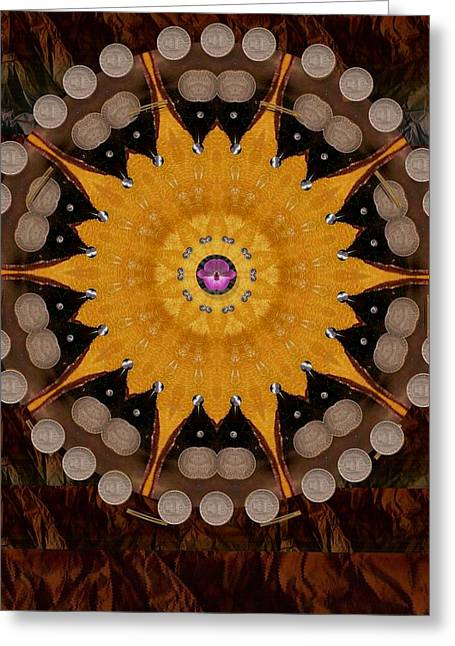 The Sun Will Rise With Light And Love Greeting Card by Pepita Selles