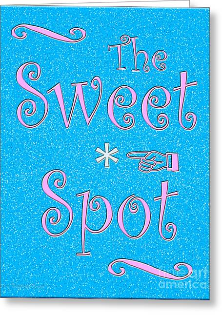 The Sweet Spot Greeting Card by Cristophers Dream Artistry
