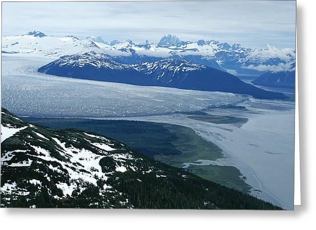 The Taku Glacier, Near Juneau Greeting Card by Kenneth Garrett