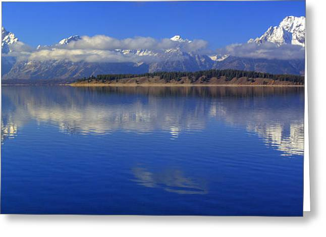 The Tetons Greeting Card