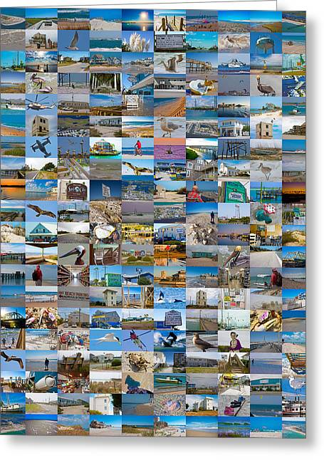 The Topsail Island 200 Greeting Card