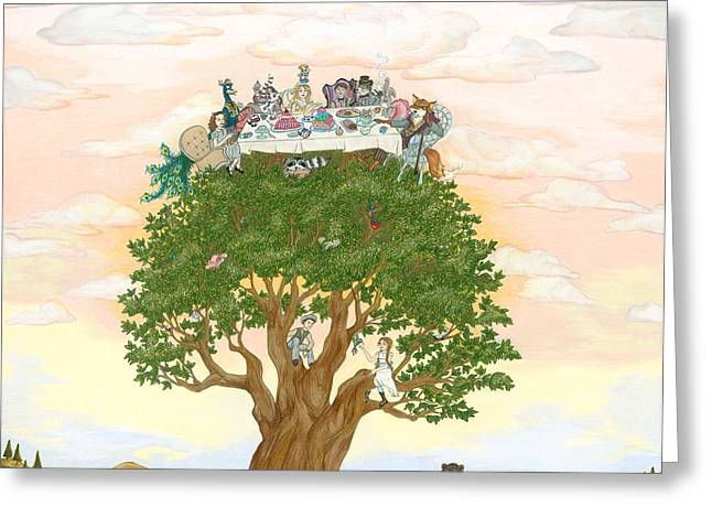 The Tree Party Greeting Card
