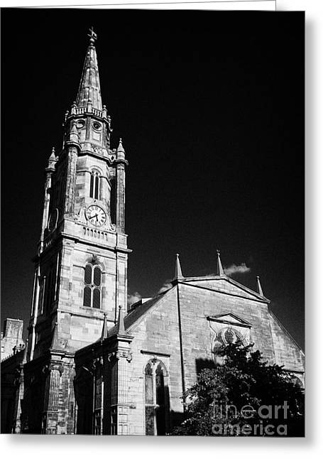 The Tron Church Edinburgh Scotland Uk United Kingdom Greeting Card
