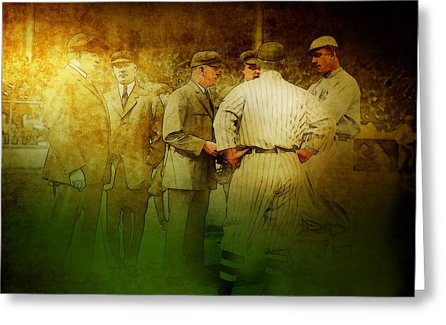 The Umpires Greeting Card