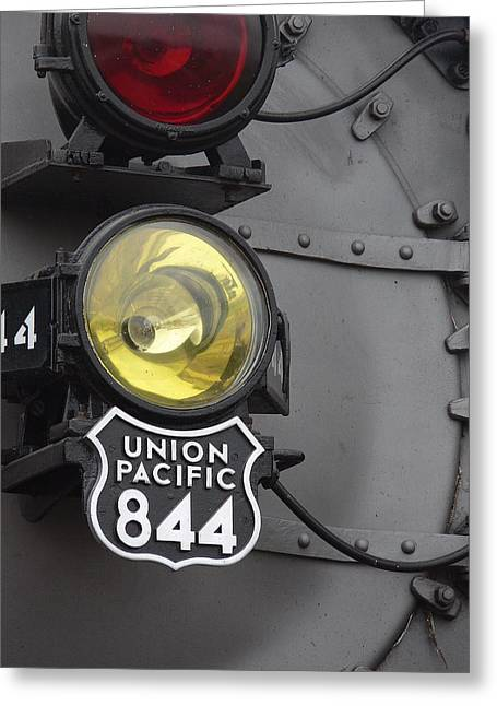 The Up 844 Greeting Card
