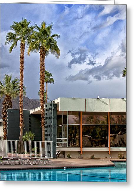 The View Palm Springs Greeting Card by William Dey