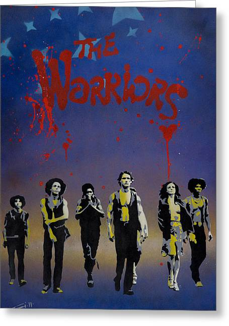 The Warriors Greeting Card