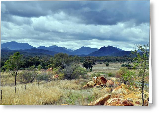 The Warrumbungle Range Greeting Card