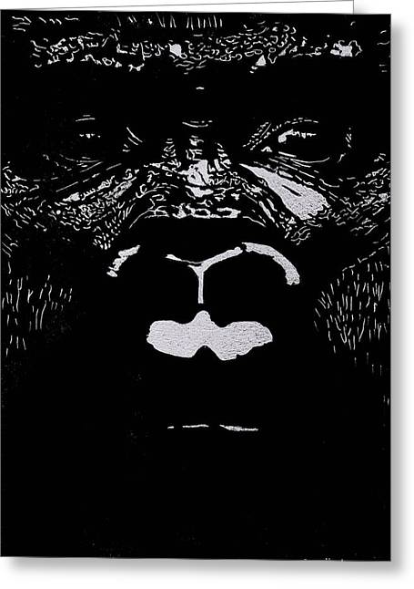 The Watcher Greeting Card by Jim Ross
