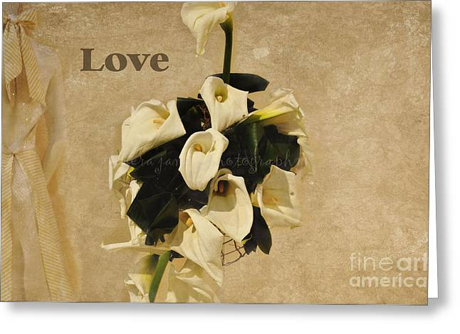 Greeting Card featuring the photograph The Wedding by Tamera James