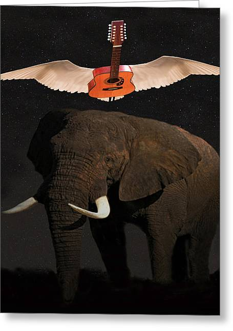 The Weight Greeting Card by Eric Kempson