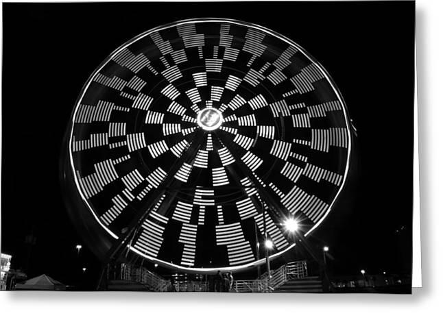 The Wheel That Ferris Built Greeting Card by David Lee Thompson