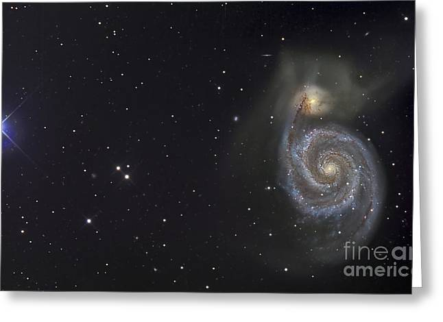 The Whirlpool Galaxy Greeting Card by R Jay GaBany