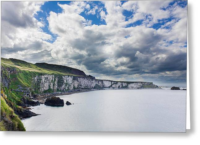 The White Cliffs Of Carrick A Rede Greeting Card